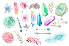 Summer Watercolor Floral BUNDLE Product Image 2