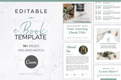 eBook Template for Canva | Lead Magnet | Sage Product Image 1