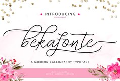 Bekafonte Typeface Product Image 2