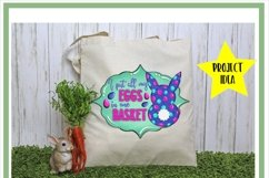 Easter Bunny Eggs In One Basket Sublimation Product Image 2