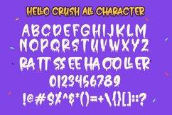 Hello Crush - Halloween Font Product Image 4