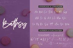 Bathsy Signature Brush Script Font Product Image 6