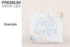 Tote Canvas Bag Mockups Product Image 6