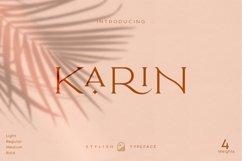 Elegant Karin - Fashion Stylish Typeface Product Image 1