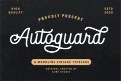 Autoguard Monoline Script Product Image 1