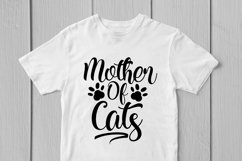 Mother Of Cats - Mother SVG EPS DXF PNG Cutting Files Product Image 2