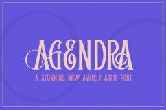 Agendra Serif Font Product Image 1