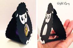 Lamb Easter egg holder design SVG / DXF / EPS files Product Image 2
