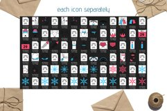 Christmas Line icons and patterns Product Image 3