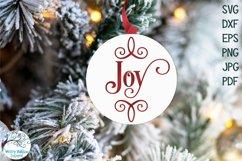 Mega Christmas Ornament SVG Bundle 6 | Round Christmas SVGs Product Image 6