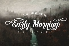 Early Morning Typeface Product Image 1