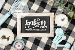 Farmhouse Kitchen Sign Flatlay Craft Mockups Styled Photo Product Image 1