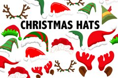 Christmas Hat Clipart Product Image 1