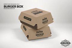 VOL.1 Food Box Packaging MockUps Product Image 2