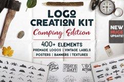 Adventure SVG Mega Bundle, Logo Creator Kit, Camping DXF Set Product Image 2