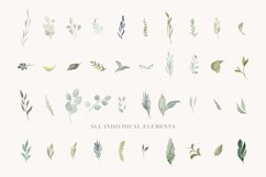 Foliage - Watercolor Leaves & Greenery Product Image 5
