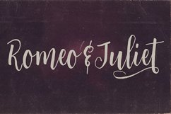 Romeo & Juliet Font Duo Product Image 5