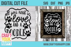 All You Need Is Love And A Doodle 2- A Dog Cut File Product Image 2