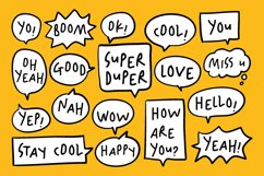 Happy Hints - Kids Doodle Handwriting Font Product Image 8