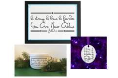 SVG Scripture Bundle, Bible Verse Print and Cutting Files Product Image 6