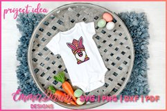 3D LAYERED EASTER BUNNY GNOME SVG, 3D SVG, 7 LAYERS Product Image 6