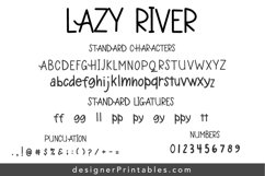 Lazy River Font Product Image 2