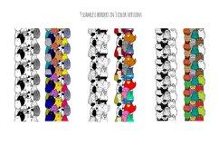 Cute doodle animals set Product Image 4