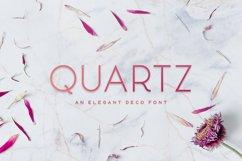 Quartz - Deco Font Product Image 1