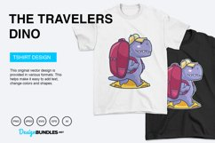 The Travelers Dino Vector Illustration Product Image 4