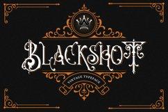 Blackshot - Blackletter Font Product Image 1