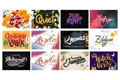 Mega Exclusive Font Bundle - 350 Font Product Image 9