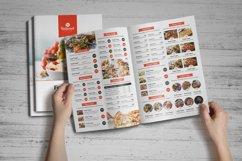 Food Menu Bifold-Trifold Brochure Product Image 3