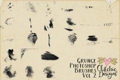 Photoshop Brushes - Grunge Texture Brushes Vol 2 Product Image 2