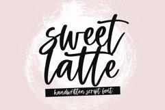 Sweet Latte - A Handwritten Script Font Product Image 1