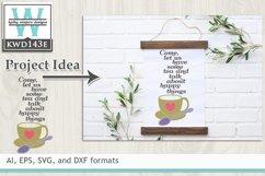 Tea SVG - Tea and Talk Product Image 1