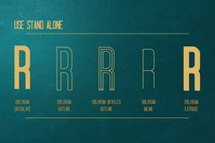 Oblivium Layered Font Family Product Image 2
