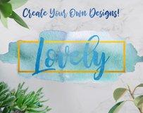 Watercolor Splash Clip Art, Vector Watercolor Backgrounds! Product Image 5
