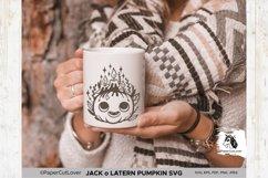Jack o Lantern Pumpkin SVG Pumpkin face SVG Halloween Svg Cu Product Image 3