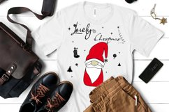 Noel Xmas SVG 04, Gnome, Merry Christmas, Kids Funny Product Image 3