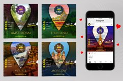 Travel Instagram Banner Pack Product Image 2