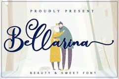 Bellarina - Wedding Font Product Image 1