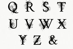 Split Letters A-Z SVG, Alphabet Letters A-Z Product Image 4