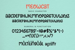Meowcats - A Quirky Font Special For Cats Lover Product Image 6