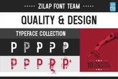 PACK PROMO 5 Zilap Font Team Product Image 7