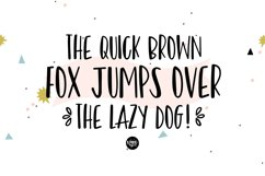 BRONX PARTY Hand Lettered Sans Font Product Image 3