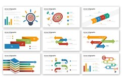 Arrow Presentation - Infographic Template Product Image 2