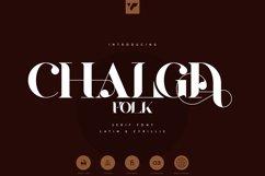 Chalga Folk Edition - Serif font Product Image 1