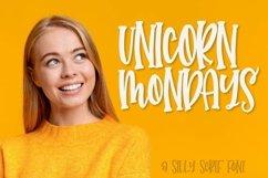 Unicorn Mondays - A Silly Serif Caps Font Product Image 1