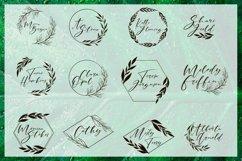 Web Font Cathia Script Font Product Image 5