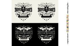 Some Super Heroes don't have Capes customize DADDY|NAME svg Product Image 3